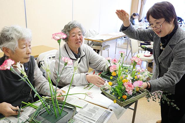 カーネーション女性生産者交流.JPG