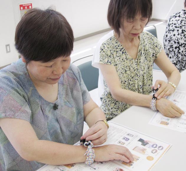 20180720_趣味の教室防災ブレスレット.JPG