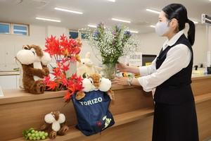 今月の花PR 諏訪支所.JPG